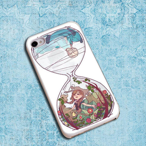 disney frozen hourglass art Phone case iPhone case Samsung Galaxy Case