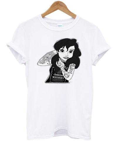 disney punk tshirt