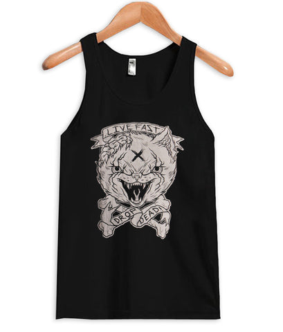 drop dead jacket Tank Top