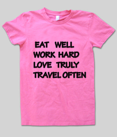 eat well T shirt