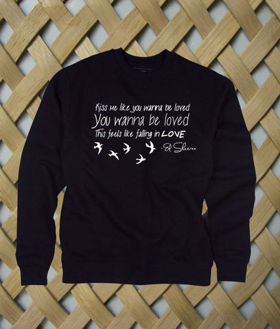 ed sheeran kiss me sweatshirt