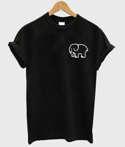 elephant pocket T shirt