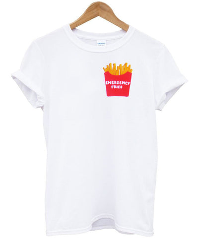 emergency fries tshirt