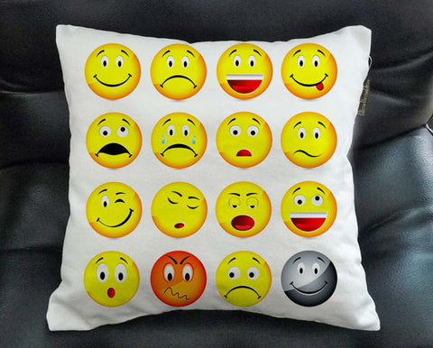 Emoticon Pillow case