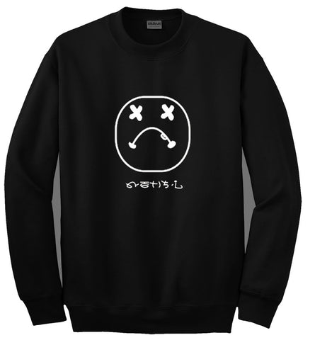 emoticon sweatshirt