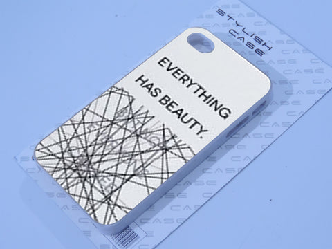 everything has beauty iphone case