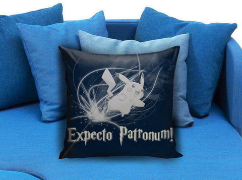 expecto patronum as pikachu Pillow case