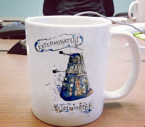 Exterminate doctor who Ceramic Mug