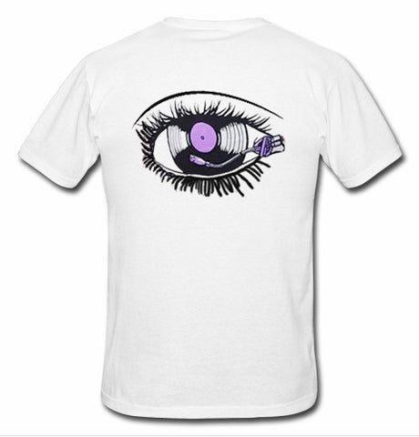 eyes tshirt back