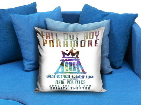 Fall out boy paramore Pillow Case
