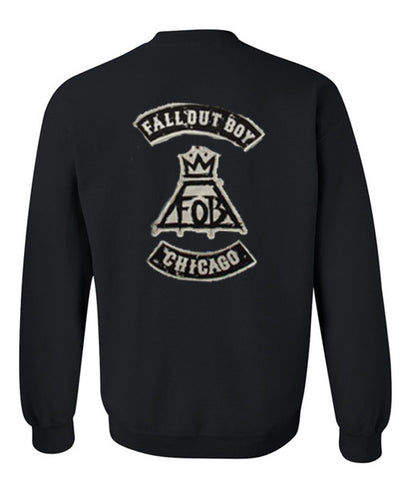 fall out boy sweatshirt back
