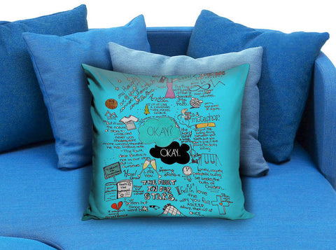 fault in our stars Pillow case