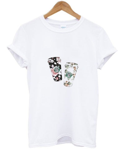 flower starbucks Tshirt