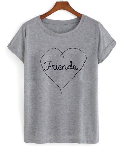 friends forever (friends) couple shirt