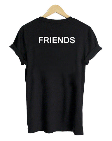 friends tshirt back