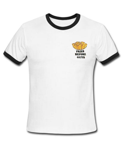 fries before guys ranger shirt