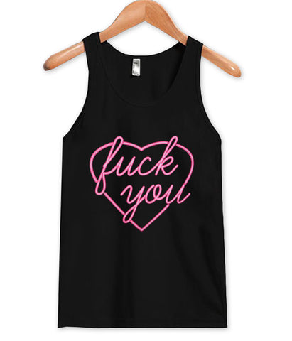 fuck you tanktop