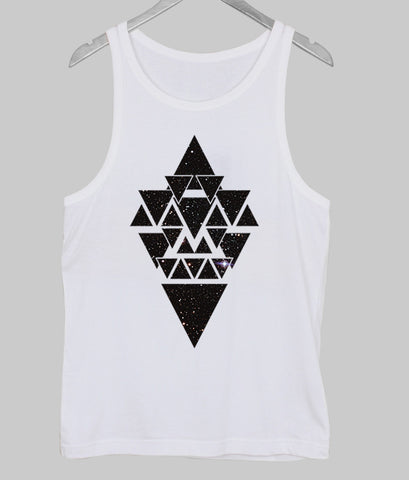 geometric design Tank Top
