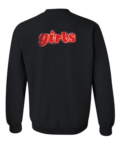 girls sweatshirt back