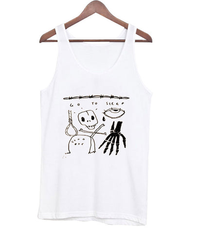 go to sleep tanktop