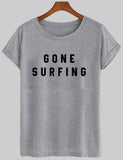 gone surfing T shirt