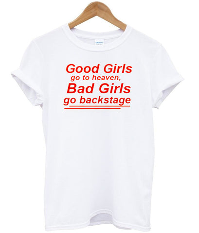 good girls go to heaven tshirt