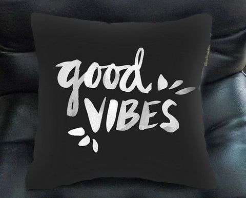 good vibes pillow case