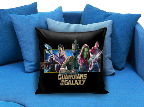 guardians of the galaxy vin diesel groot zoe saldana gamora dave bautista bradley cooper rocket raccoon Pillow case
