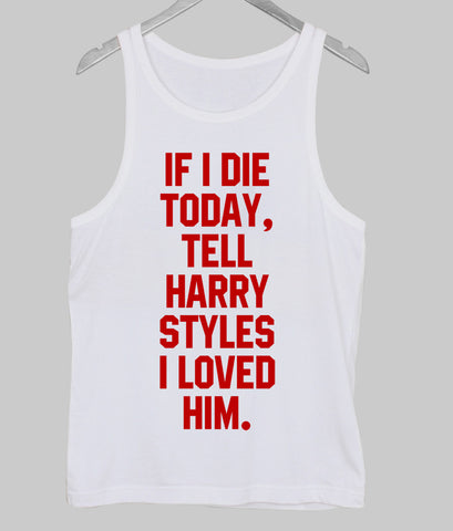 harry styles Tank Top