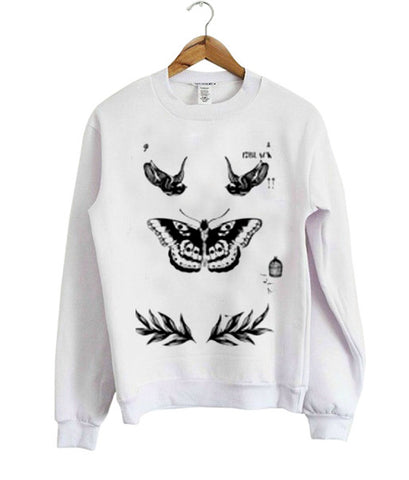 harry styles tattoo sweatshirt