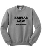 harvar law sweatshirt