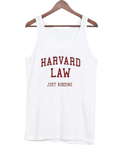 harvard law tanktop