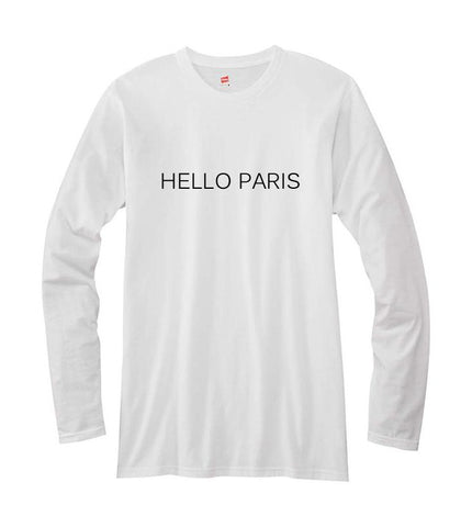 hello paris long sleeve