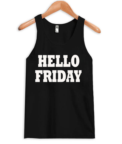 hellow friday tanktop