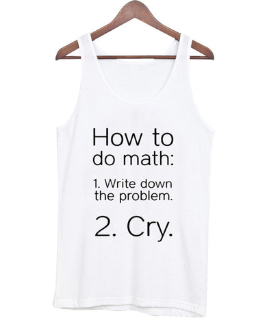 how to do math tanktop