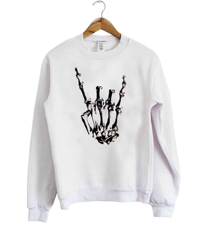 human skeleton Sweatshirt