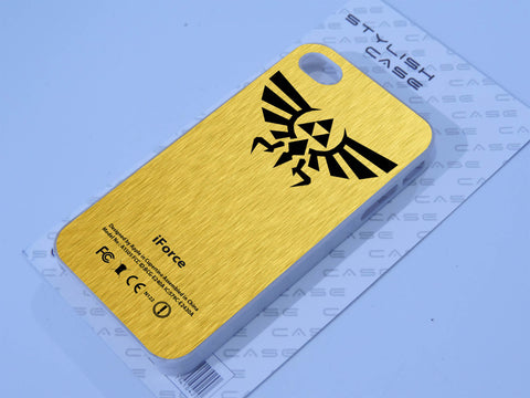 iForce The Legend Of Zelda Gold Phone case iPhone case Samsung Galaxy Case
