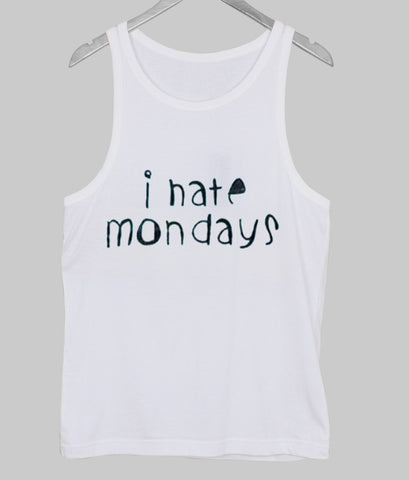 i hate monday  Tank Top