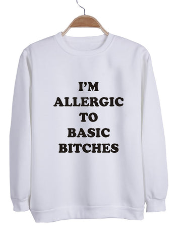 i'm allergic sweatshirt