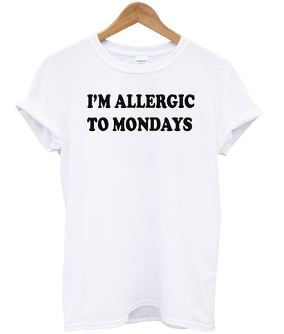 i'm allergic tshirt