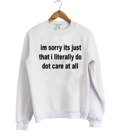 i;m sorry its just sweatshirt