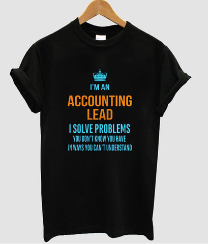 i'man accounting tshirt
