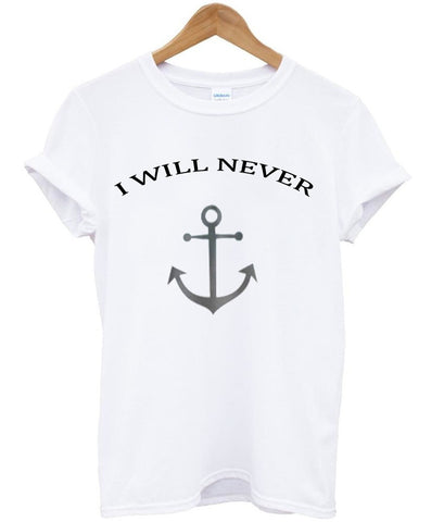 i will never cauple tshirt