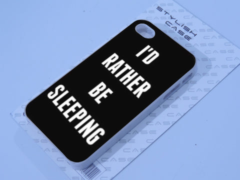 i'd rather be sleeping Phone case iPhone case Samsung Galaxy Case