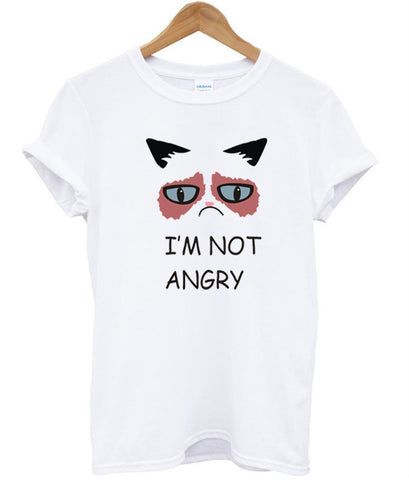 im not angry t shirt