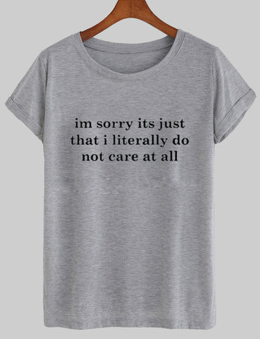 im sorry its just T shirt