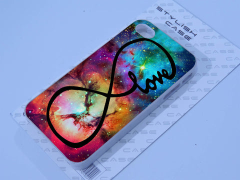 infinity love purple galaxy Phone case iPhone case Samsung Galaxy Case