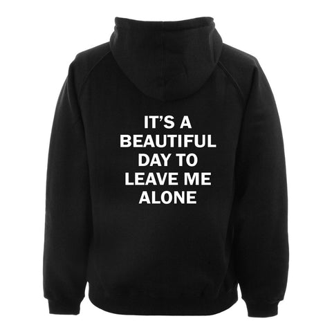 it's a beautiful hoodie BACK