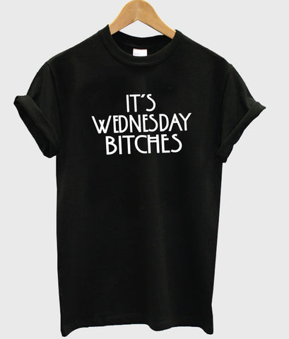 it's wednesday tshirt