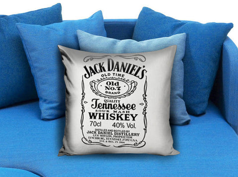 jack daniels Pillow Cover Printed Pillow case